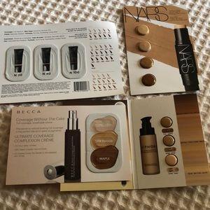 Sephora Makeup - Huge High End Sephora Foundation Sample Bundle